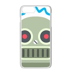 Robot Apple Iphone 7 Plus White Seamless Case by BestEmojis