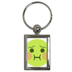 Barf Key Chains (rectangle)  by BestEmojis