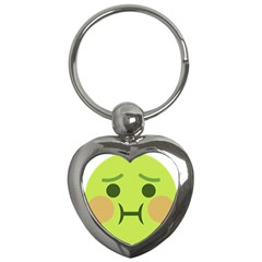 Barf Key Chains (heart)  by BestEmojis