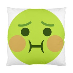 Barf Standard Cushion Case (two Sides) by BestEmojis
