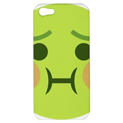 Barf Apple Iphone 5 Hardshell Case by BestEmojis