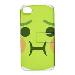 Barf Apple Iphone 4/4s Hardshell Case With Stand by BestEmojis