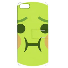 Barf Apple Iphone 5 Hardshell Case With Stand by BestEmojis