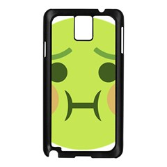 Barf Samsung Galaxy Note 3 N9005 Case (black) by BestEmojis