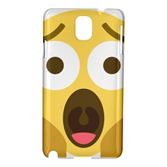 Scream Emoji Samsung Galaxy Note 3 N9005 Hardshell Case by BestEmojis