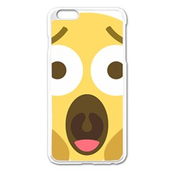Scream Emoji Apple Iphone 6 Plus/6s Plus Enamel White Case by BestEmojis