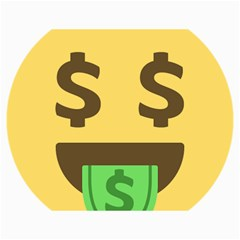 Money Face Emoji Canvas 18  X 24   by BestEmojis