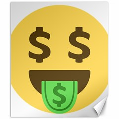 Money Face Emoji Canvas 20  X 24   by BestEmojis
