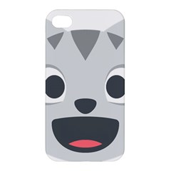 Cat Smile Apple Iphone 4/4s Premium Hardshell Case by BestEmojis