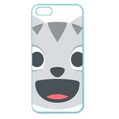 Cat Smile Apple Seamless Iphone 5 Case (color) by BestEmojis