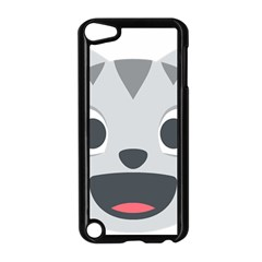 Cat Smile Apple Ipod Touch 5 Case (black) by BestEmojis