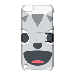 Cat Smile Apple Ipod Touch 5 Hardshell Case With Stand by BestEmojis