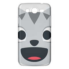 Cat Smile Samsung Galaxy Mega 5 8 I9152 Hardshell Case  by BestEmojis