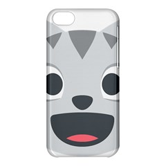 Cat Smile Apple Iphone 5c Hardshell Case by BestEmojis
