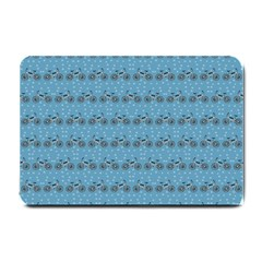 Bicycles Pattern Small Doormat  by linceazul