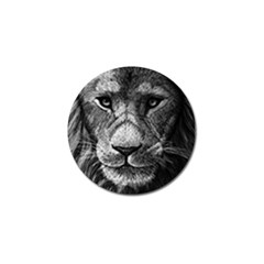 My Lion Sketch Golf Ball Marker (10 Pack) by 1871930