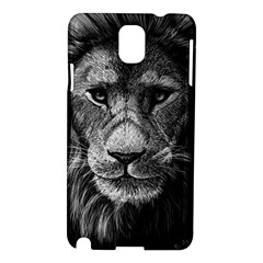 My Lion Sketch Samsung Galaxy Note 3 N9005 Hardshell Case