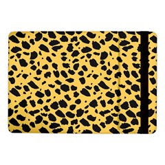 Skin Animals Cheetah Dalmation Black Yellow Samsung Galaxy Tab Pro 10 1  Flip Case by Mariart