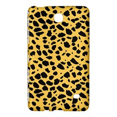 Skin Animals Cheetah Dalmation Black Yellow Samsung Galaxy Tab 4 (8 ) Hardshell Case  by Mariart