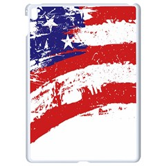 Red White Blue Star Flag Apple Ipad Pro 9 7   White Seamless Case by Mariart
