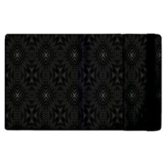 Star Black Apple Ipad 2 Flip Case by Mariart