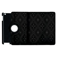 Star Black Apple Ipad 2 Flip 360 Case by Mariart