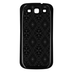 Star Black Samsung Galaxy S3 Back Case (black) by Mariart