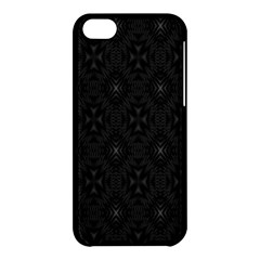 Star Black Apple Iphone 5c Hardshell Case by Mariart