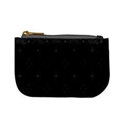 Star Black Mini Coin Purses by Mariart