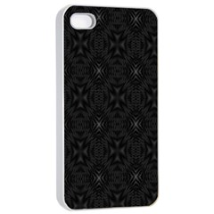 Star Black Apple Iphone 4/4s Seamless Case (white)