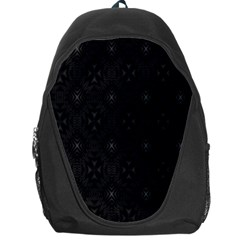 Star Black Backpack Bag by Mariart