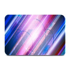 Widescreen Polka Star Space Polkadot Line Light Chevron Waves Circle Plate Mats by Mariart