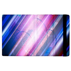 Widescreen Polka Star Space Polkadot Line Light Chevron Waves Circle Apple Ipad 2 Flip Case by Mariart