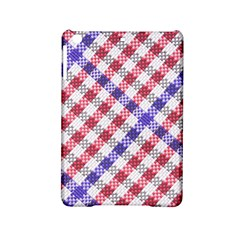 Webbing Wicker Art Red Bluw White Ipad Mini 2 Hardshell Cases by Mariart