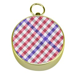Webbing Wicker Art Red Bluw White Gold Compasses by Mariart