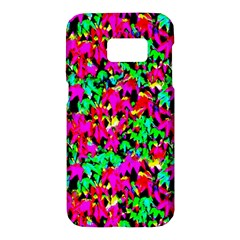Colorful Leaves Samsung Galaxy S7 Hardshell Case  by Costasonlineshop