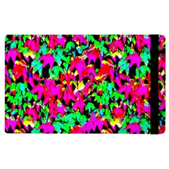 Colorful Leaves Apple Ipad Pro 9 7   Flip Case by Costasonlineshop