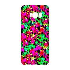 Colorful Leaves Samsung Galaxy S8 Hardshell Case  by Costasonlineshop