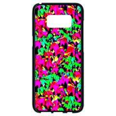 Colorful Leaves Samsung Galaxy S8 Black Seamless Case by Costasonlineshop