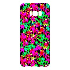 Colorful Leaves Samsung Galaxy S8 Plus Hardshell Case  by Costasonlineshop