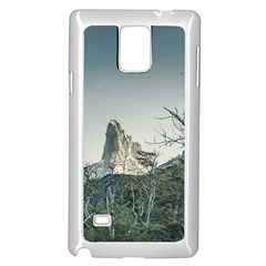 Fitz Roy Mountain, El Chalten Patagonia   Argentina Samsung Galaxy Note 4 Case (white) by dflcprints
