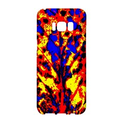Fire Tree Pop Art Samsung Galaxy S8 Hardshell Case  by Costasonlineshop