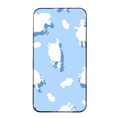 Vector Sheep Clouds Background Apple Iphone 4/4s Seamless Case (black) by Nexatart