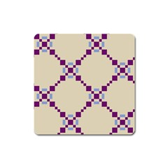 Pattern Background Vector Seamless Square Magnet by Nexatart