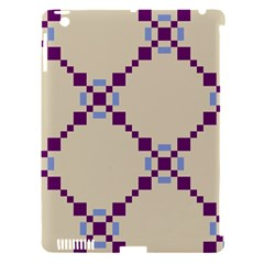 Pattern Background Vector Seamless Apple Ipad 3/4 Hardshell Case (compatible With Smart Cover)