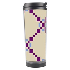 Pattern Background Vector Seamless Travel Tumbler by Nexatart