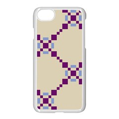Pattern Background Vector Seamless Apple Iphone 7 Seamless Case (white) by Nexatart