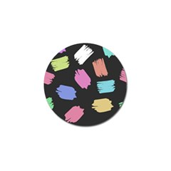 Many Colors Pattern Seamless Golf Ball Marker (4 Pack)