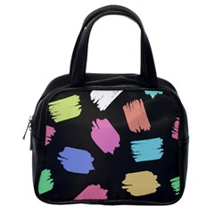 Many Colors Pattern Seamless Classic Handbags (one Side) by Nexatart