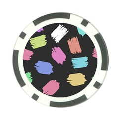 Many Colors Pattern Seamless Poker Chip Card Guard (10 Pack) by Nexatart